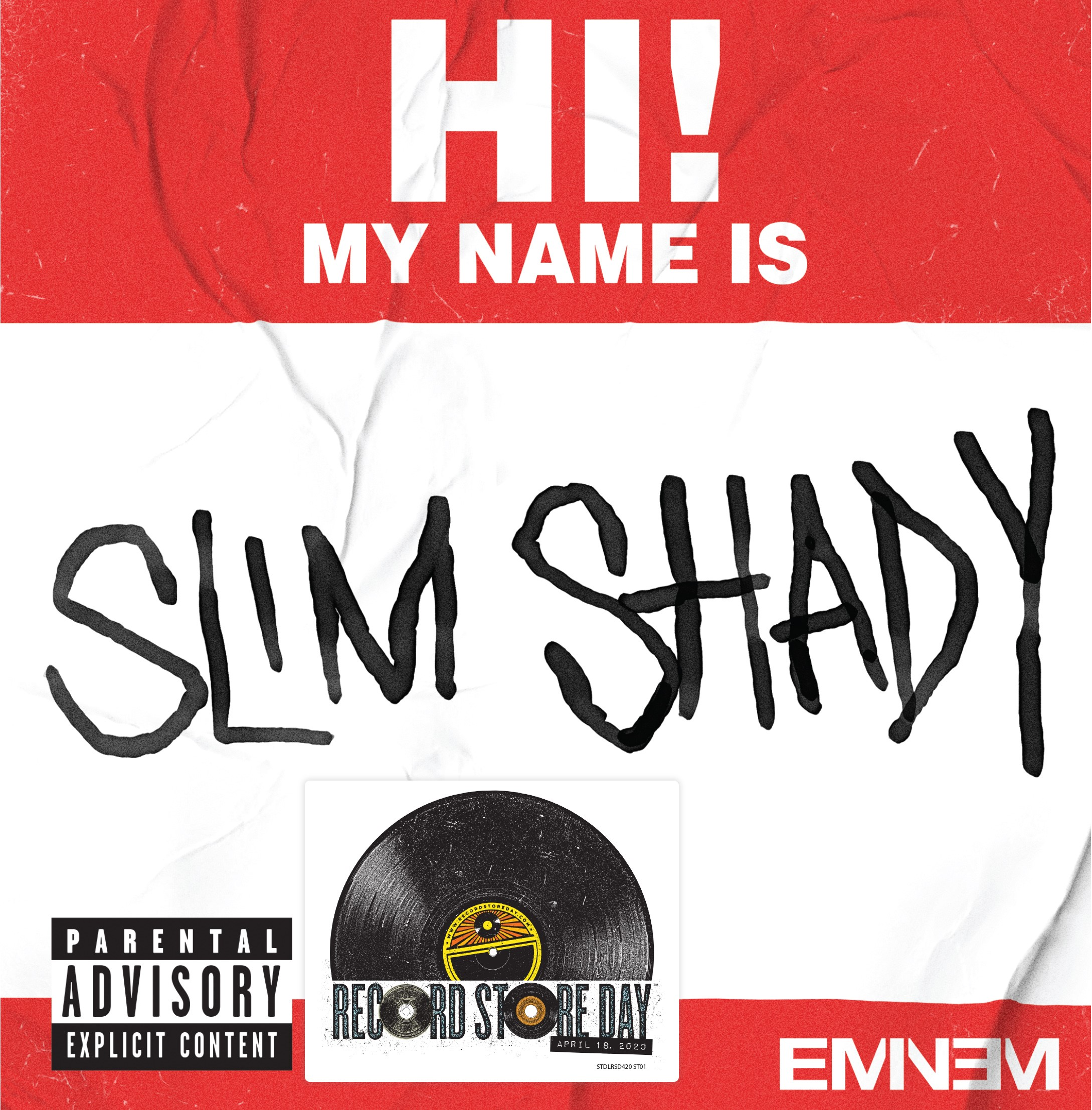 Eminem - My Name Is / Bad Guys Always Die [RSD Drops Oct 2020]
