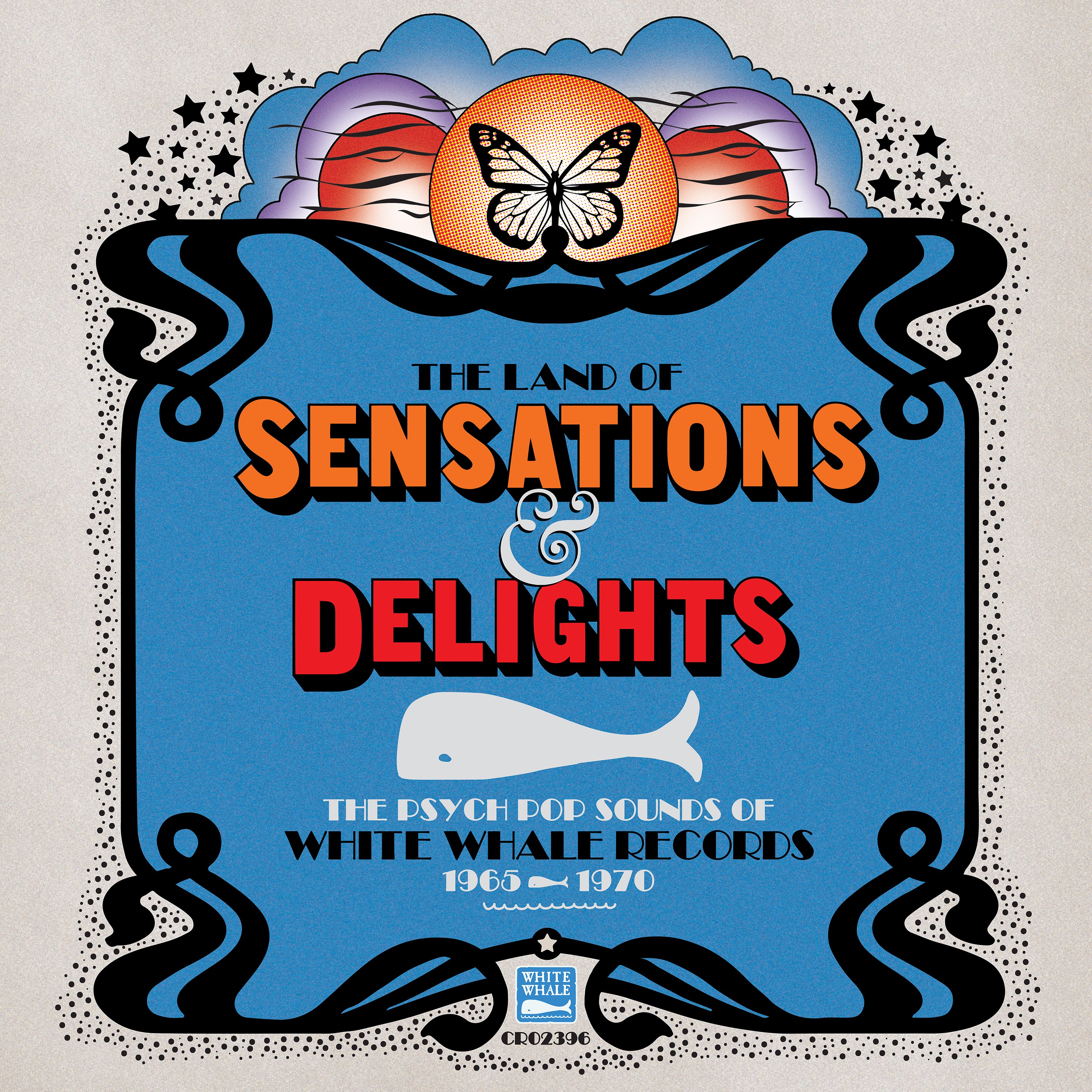 Various Artists - The Land of Sensations & Delights: The Psych Pop Sounds of White Whale Records, 1965–1970 [RSD Drops Aug 2020]