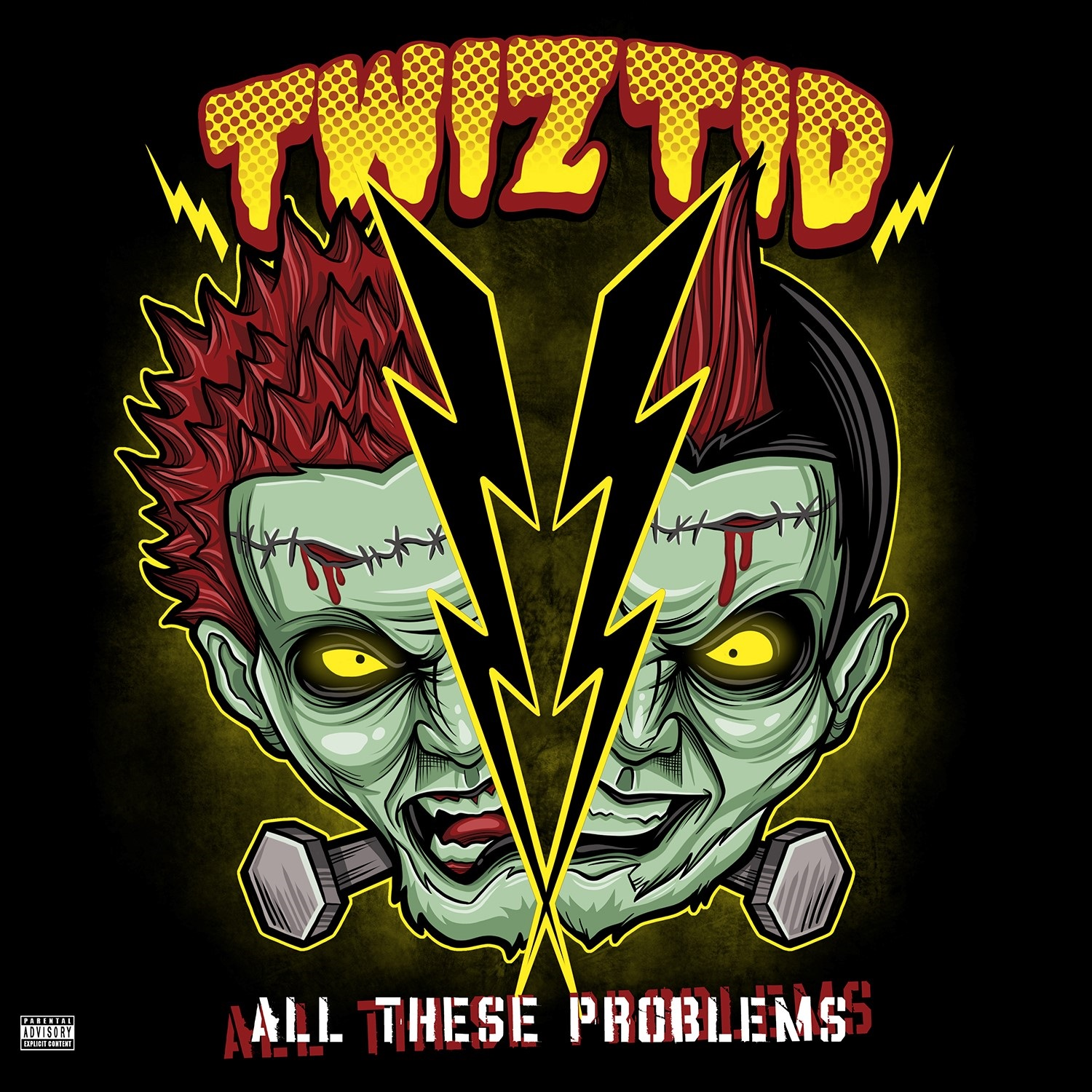 Twiztid - All These Problems [RSD Drops Aug 2020]