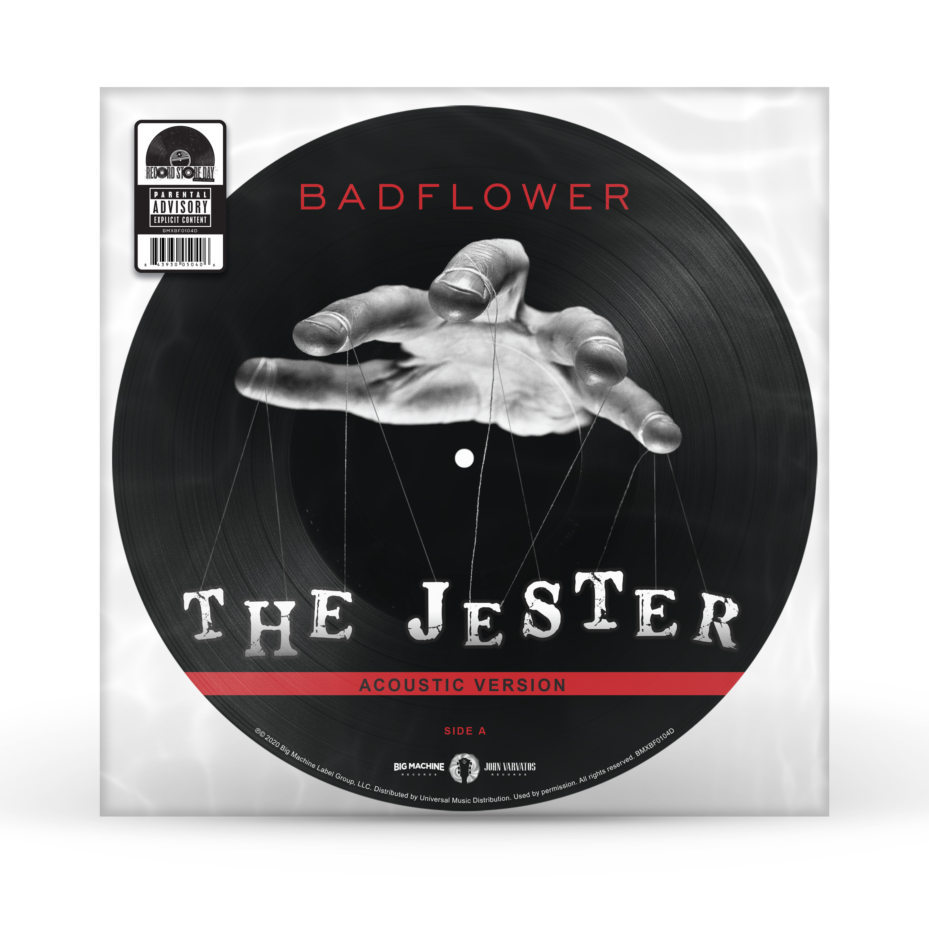 Badflower - Jester / Everybody Wants To Rule The World [RSD Drops Sep 2020]