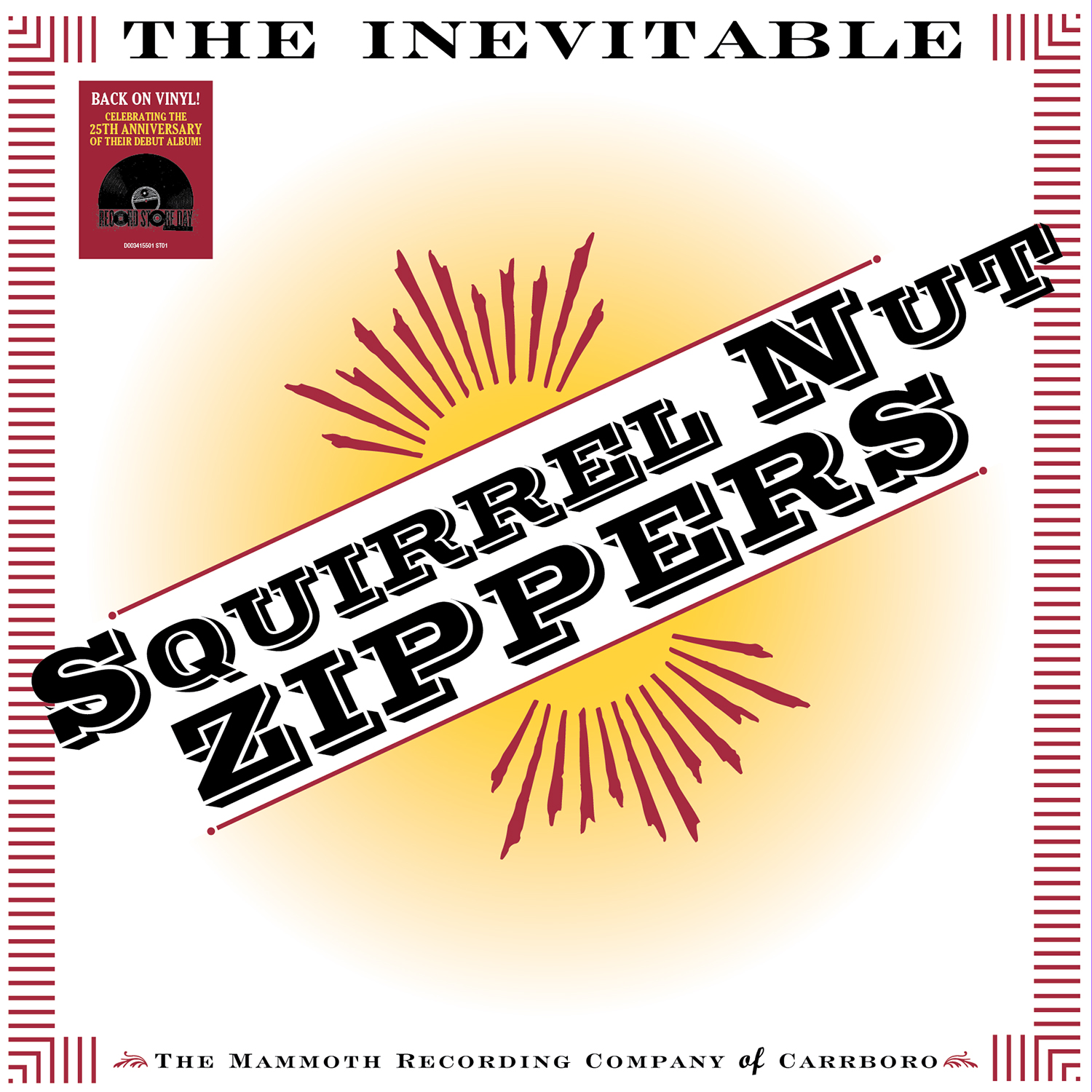 Squirrel Nut Zippers - The Inevitable [RSD Drops Sep 2020]