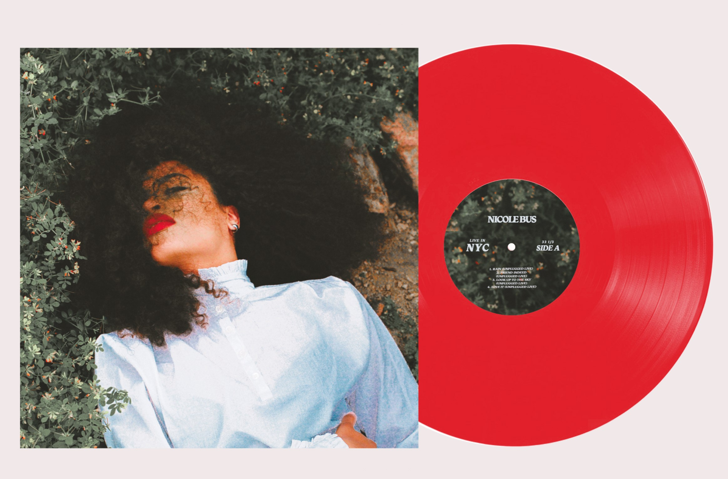 Nicole Bus - Live In NYC [Limited Edition Red LP]