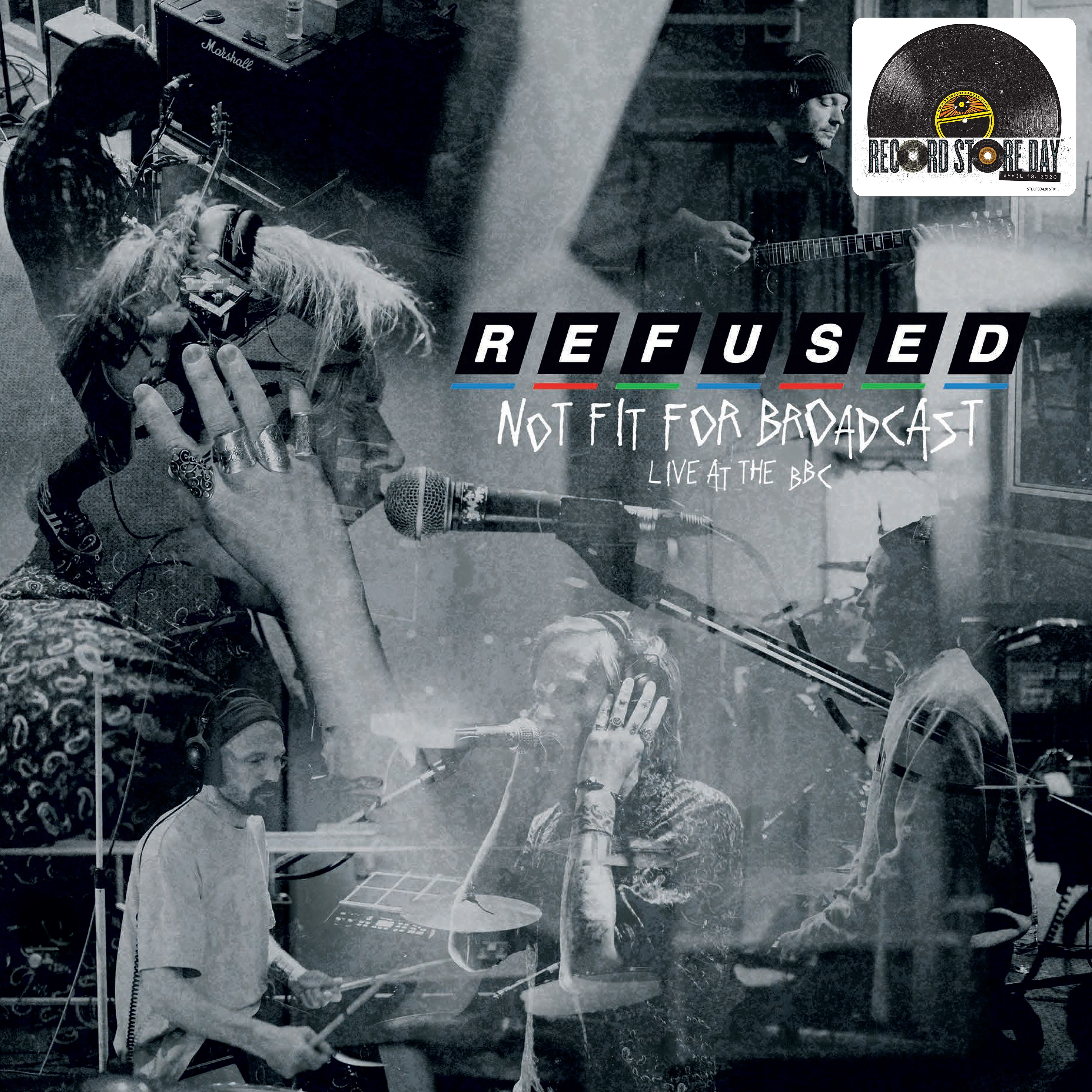 Refused - Not Fit For Broadcasting - Live At The BBC [RSD Drops Aug 2020]
