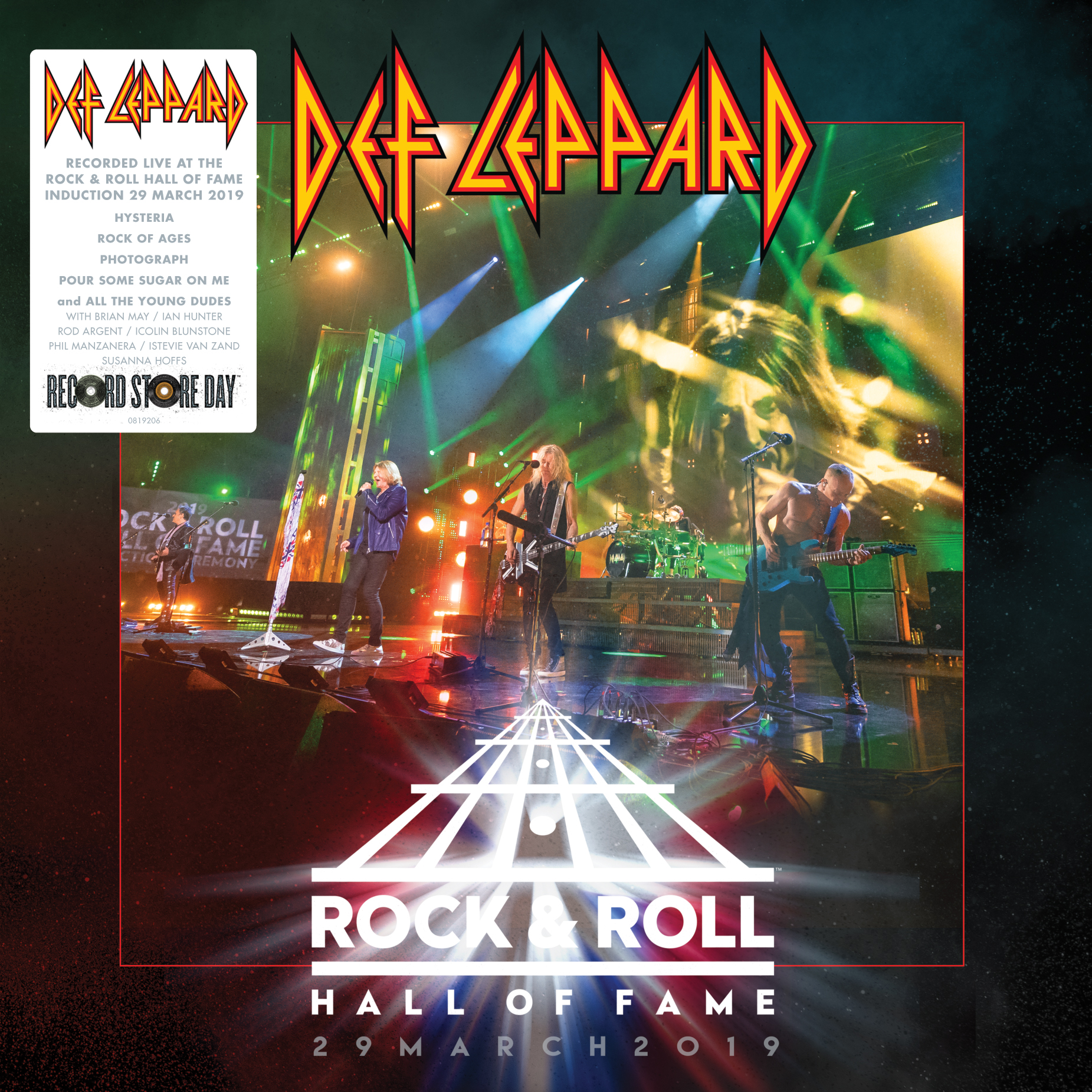 Def Leppard - Rock N Roll Hall Of Fame 2019 [RSD Drops Aug 2020]