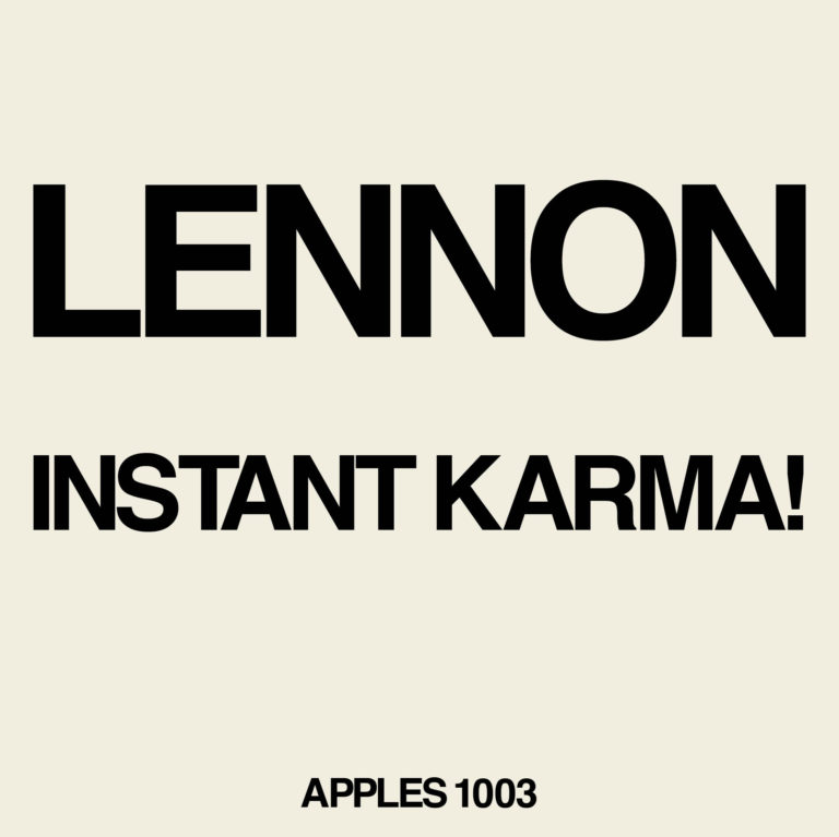 Lennon/Ono with the Plastic Ono Band - Instant Karma! (2020 Ultimate Mixes) [RSD Drops Aug 2020]