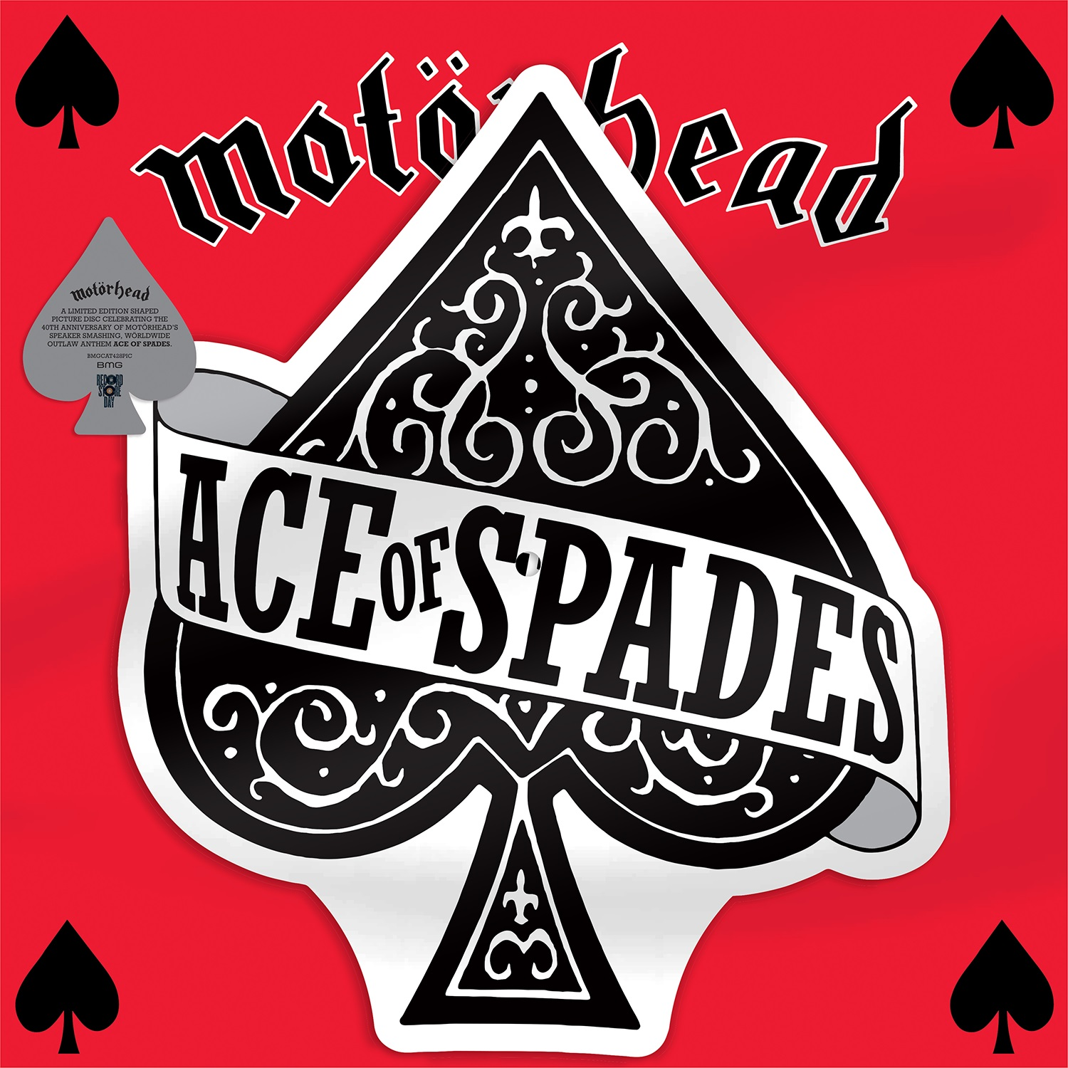 Motorhead - Ace Of Spades / Dirty Love [RSD Drops Aug 2020]