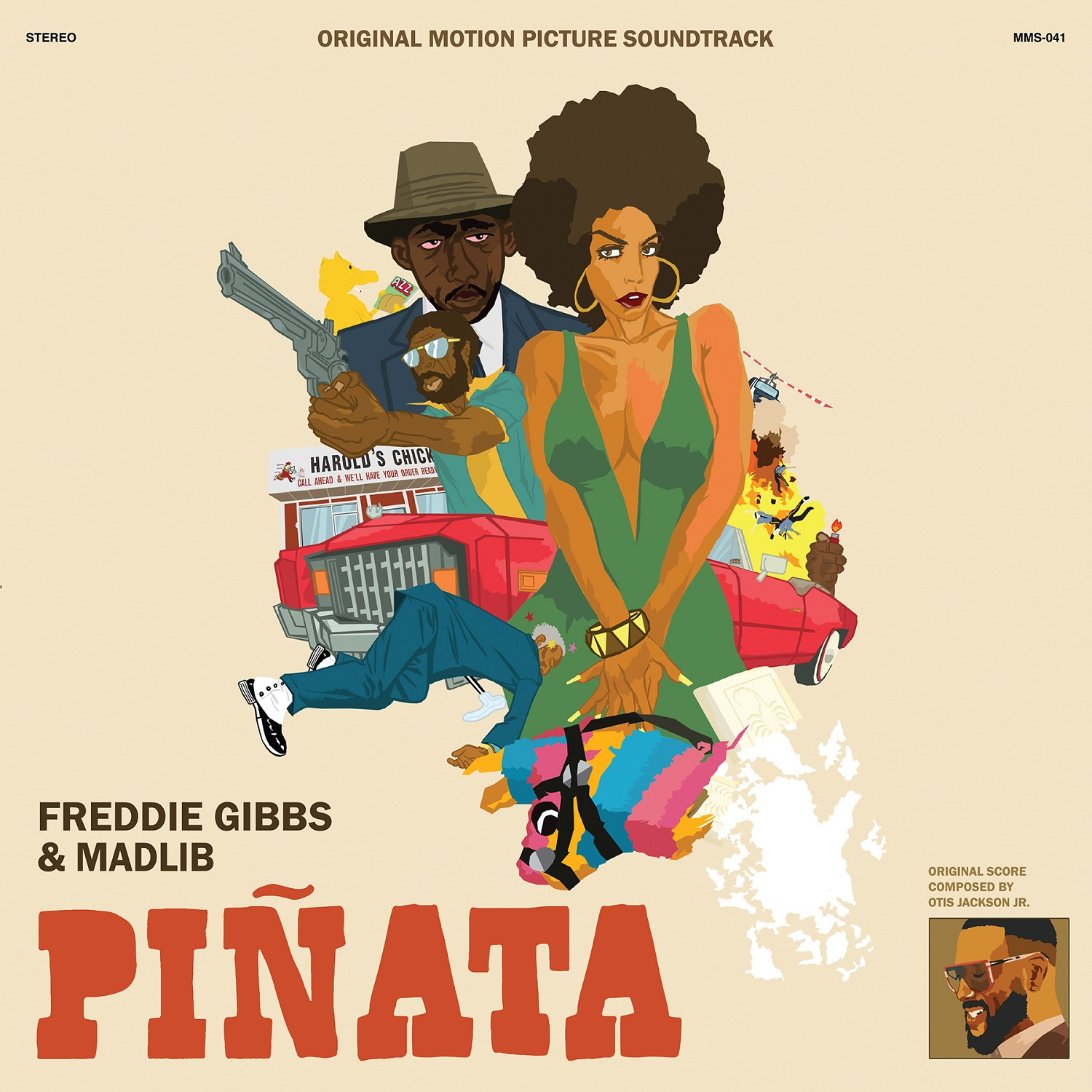 Freddie Gibbs & Madlib - Piñata: The 1974 Version [RSD Drops Oct 2020]