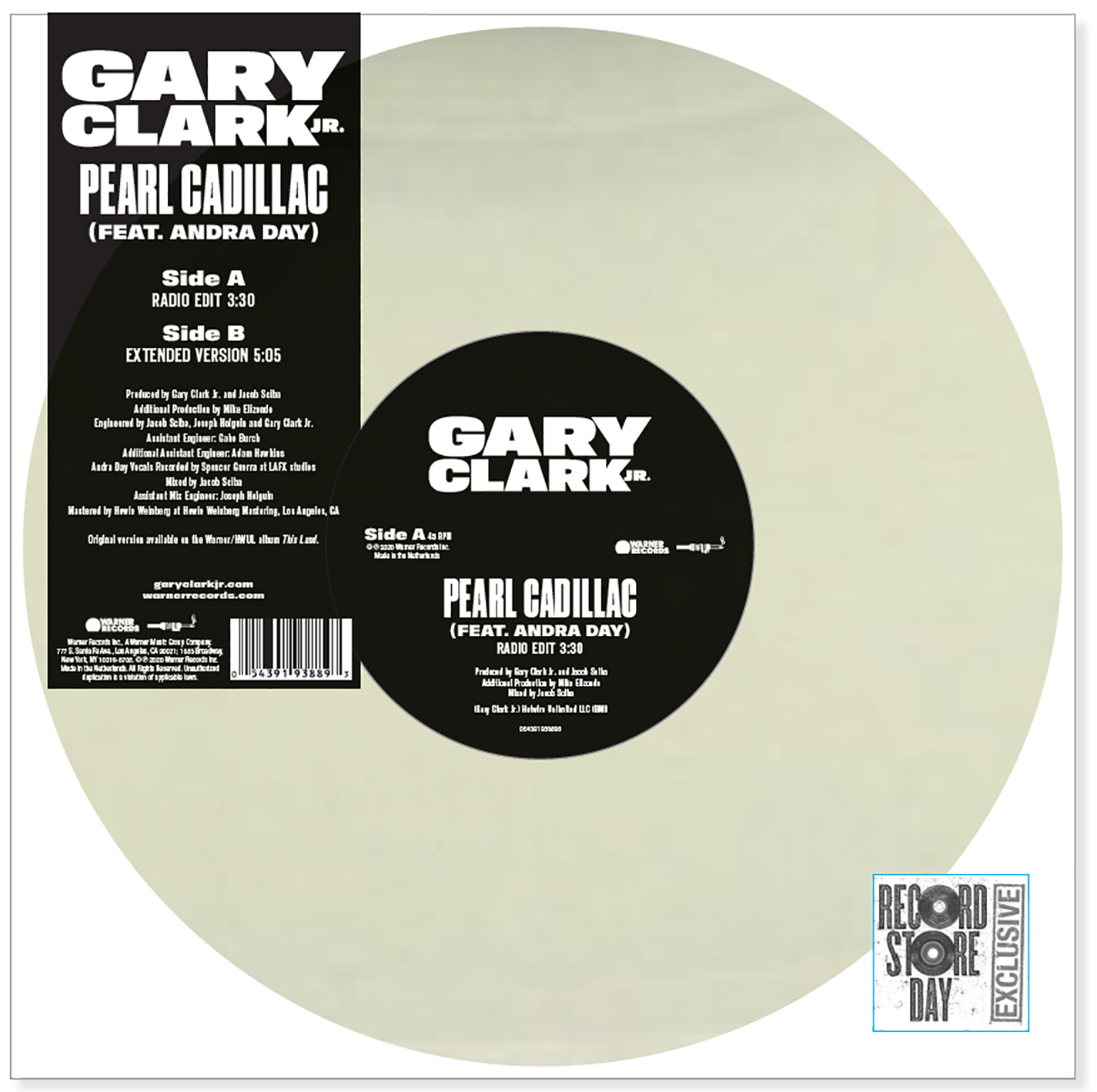 Gary Clark Jr. - Pearl Cadillac (Feat. Andra Day) [RSD Drops Aug 2020]