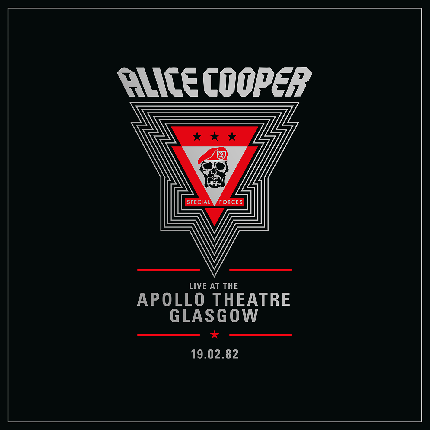Alice Cooper - Live from the Apollo Theatre Glasgow Feb 19.1982 [RSD Drops Oct 2020]