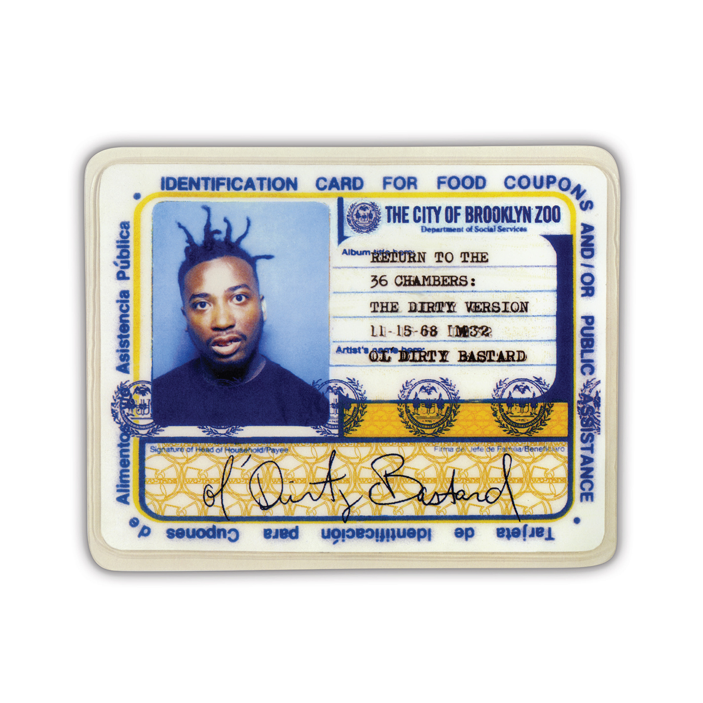 Ol' Dirty Bastard - Return To The 36 Chambers: The Dirty Version [RSD Drops Sep 2020]