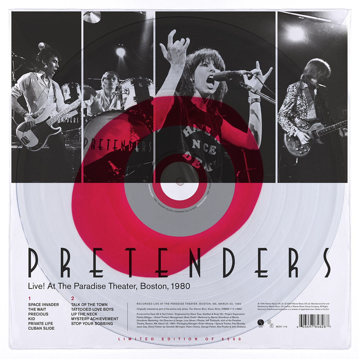 Pretenders - Live! At The Paradise, Boston, 1980 [RSD Drops Aug 2020]