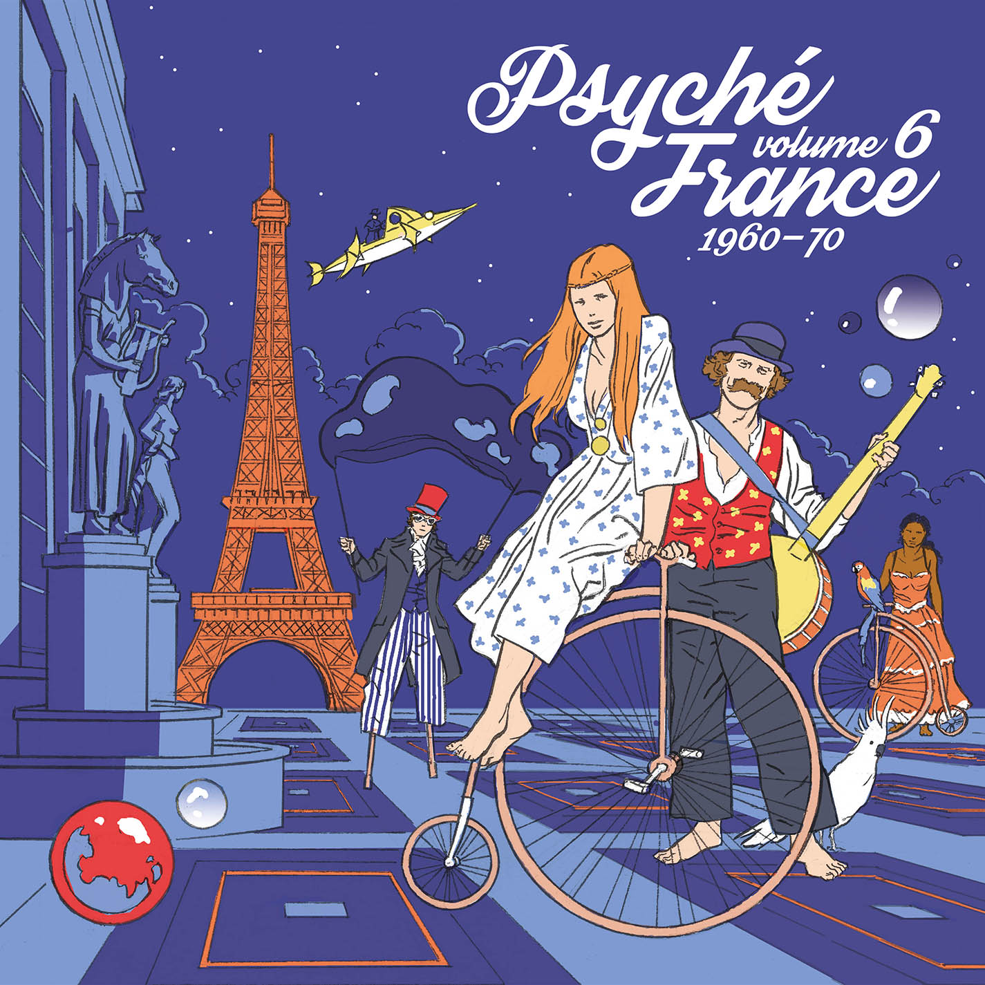 Various Artists - Psyché France vol. 6 (1960-70) [RSD Drops Sep 2020]