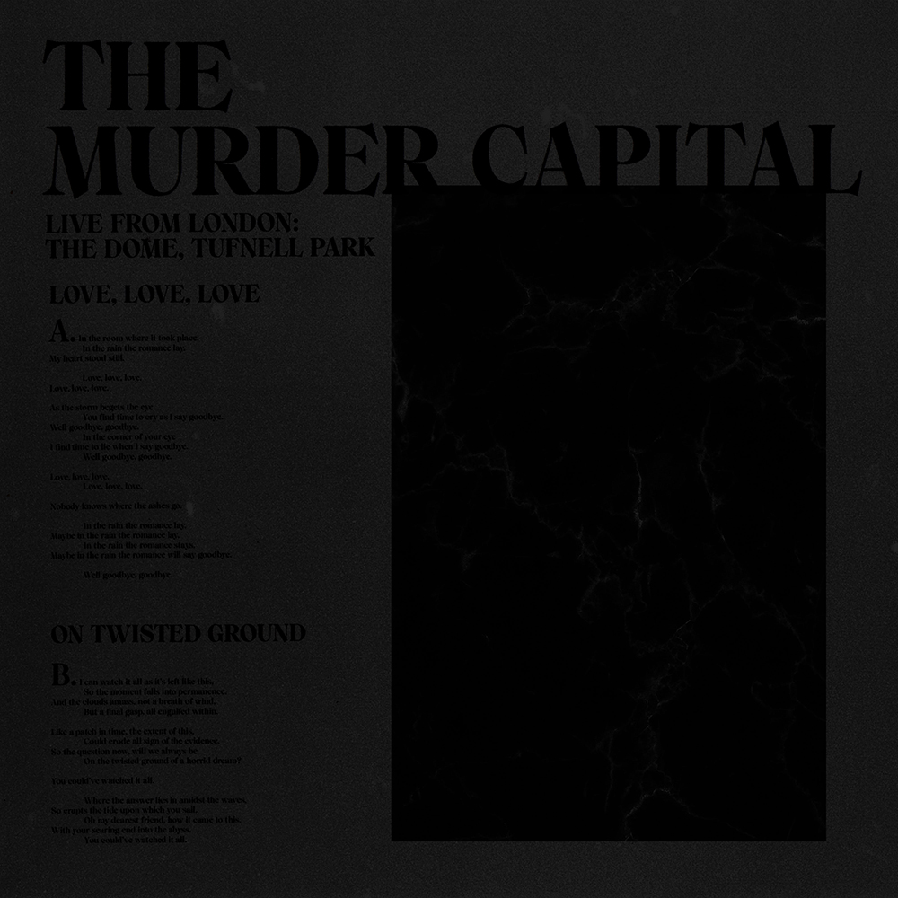 Murder Capital - Live from London: The Dome, Tufnell Park [RSD Drops Aug 2020]