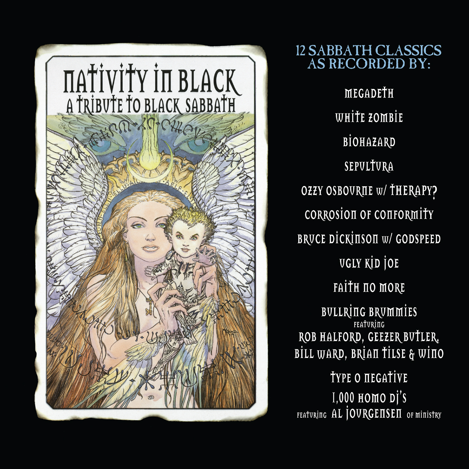 Various Artists - Nativity In Black - Tribute To Black Sabbath [RSD Drops Sep 2020]