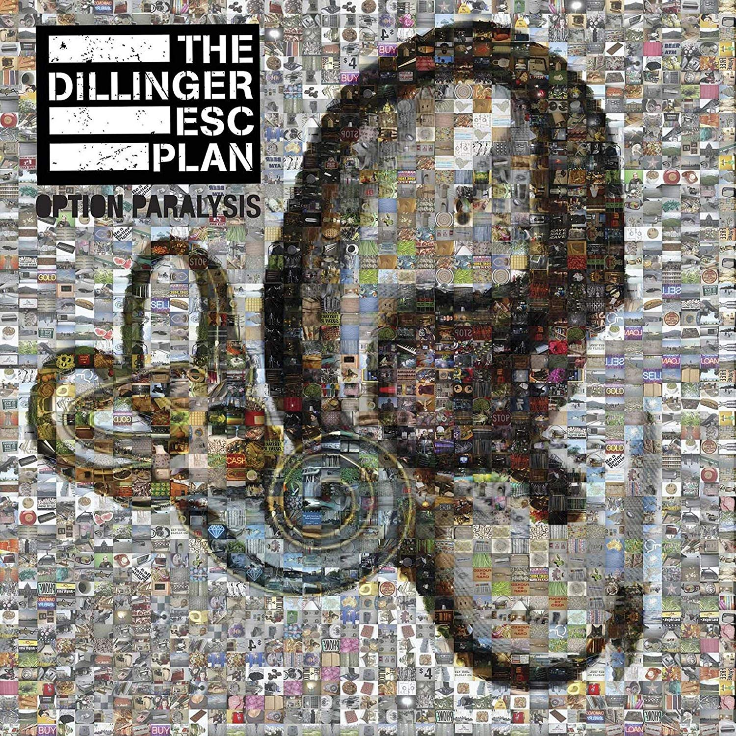 Dillinger Escape Plan - Option Paralysis [Clear Vinyl] [Limited Edition] (Trq)