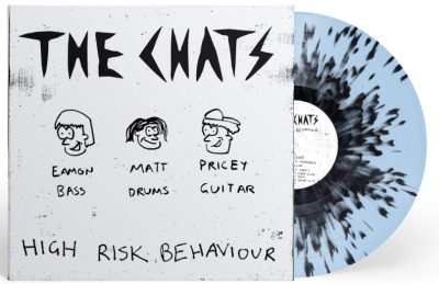 The Chats - High Risk Behaviour [Indie Exclusive Limited Edition Blue with Black Splatter LP]