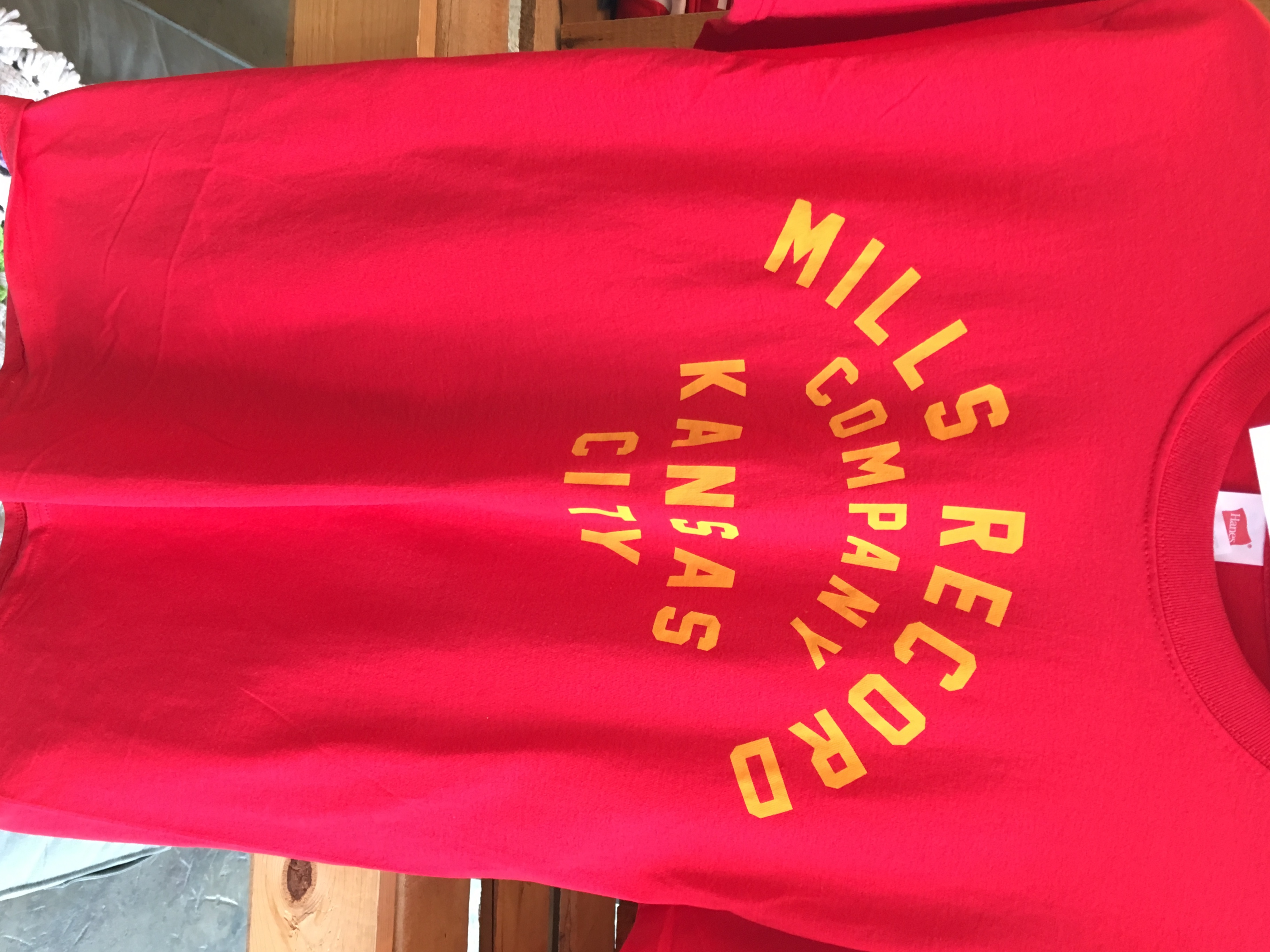 - Mills Champs Limited Text T (Red)