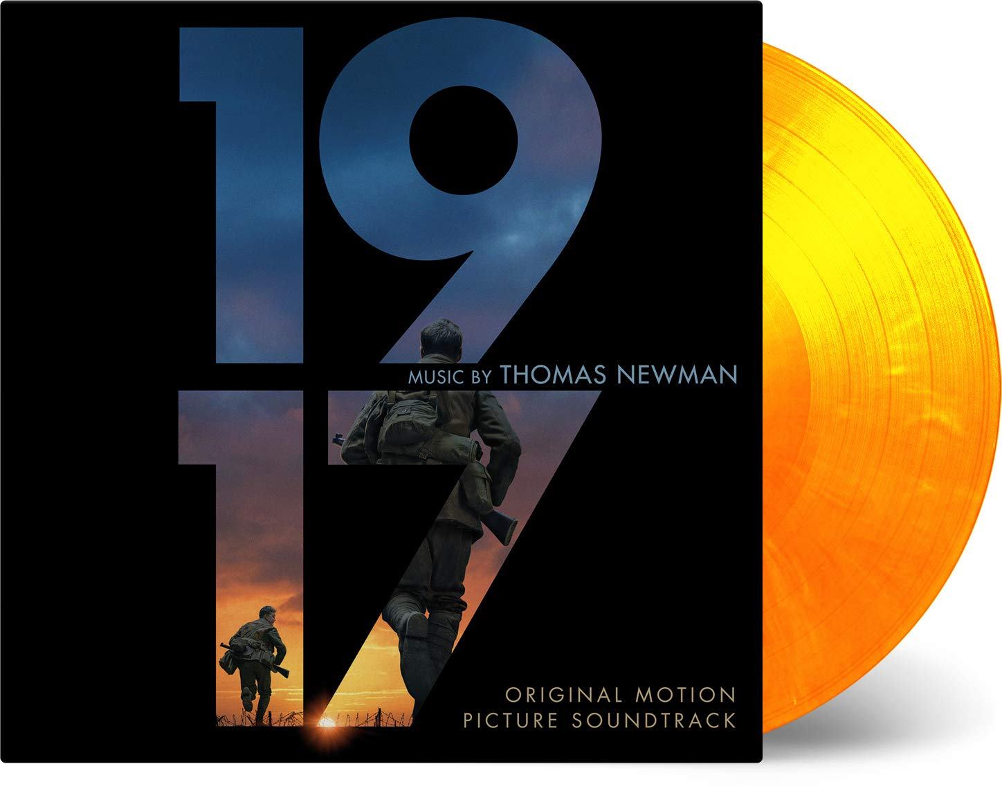 Thomas Newman - 1917 (Original Motion Picture Soundtrack) [Limited Edition Flaming Colored 2LP]