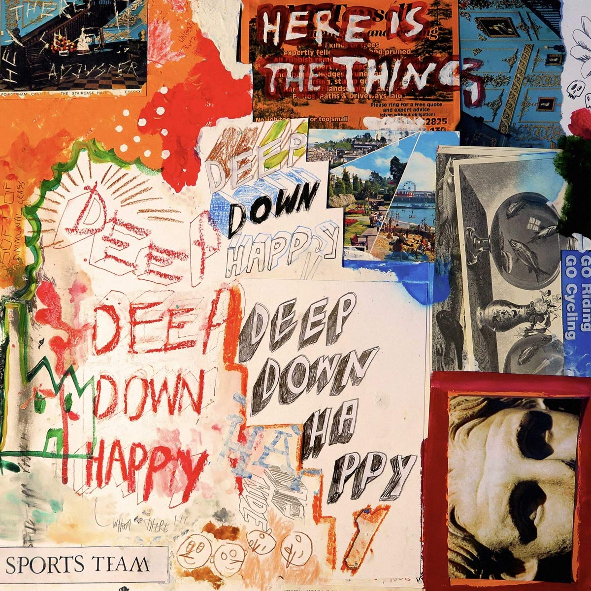 Sports Team - Deep Down Happy [Import]