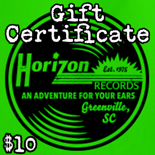- $10 Gift Certificate