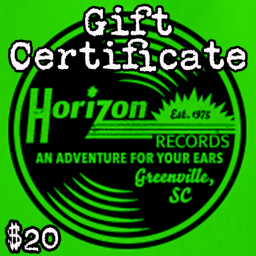 - $20 Gift Certificate