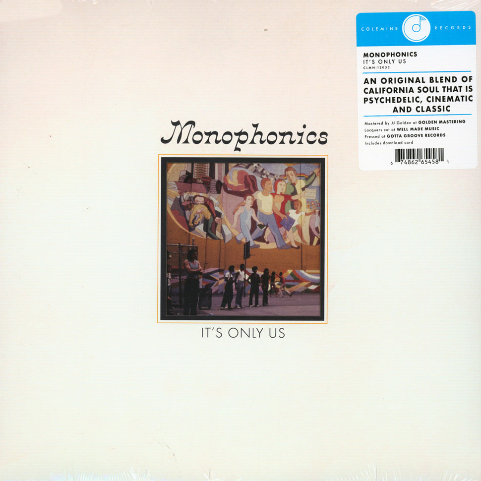 Monophonics - It's Only Us (Color Vinyl) [Colored Vinyl] [Limited Edition]