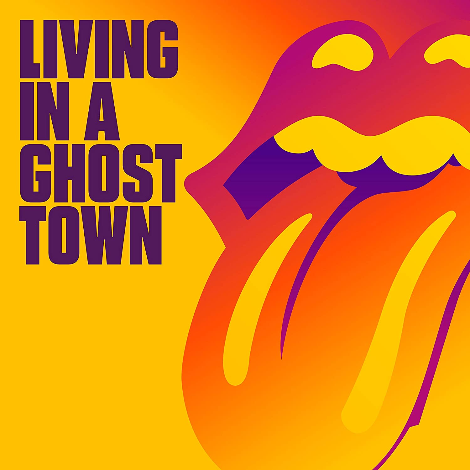 Living In A Ghost Town [Limited Edition 10in Orange Single]