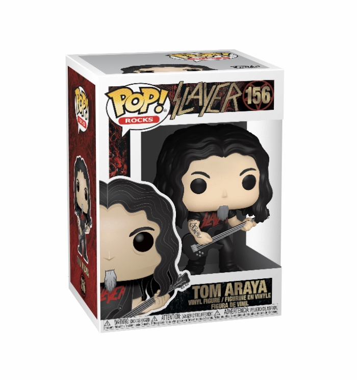 Slayer - FUNKO POP! ROCKS: Slayer - Tom Araya