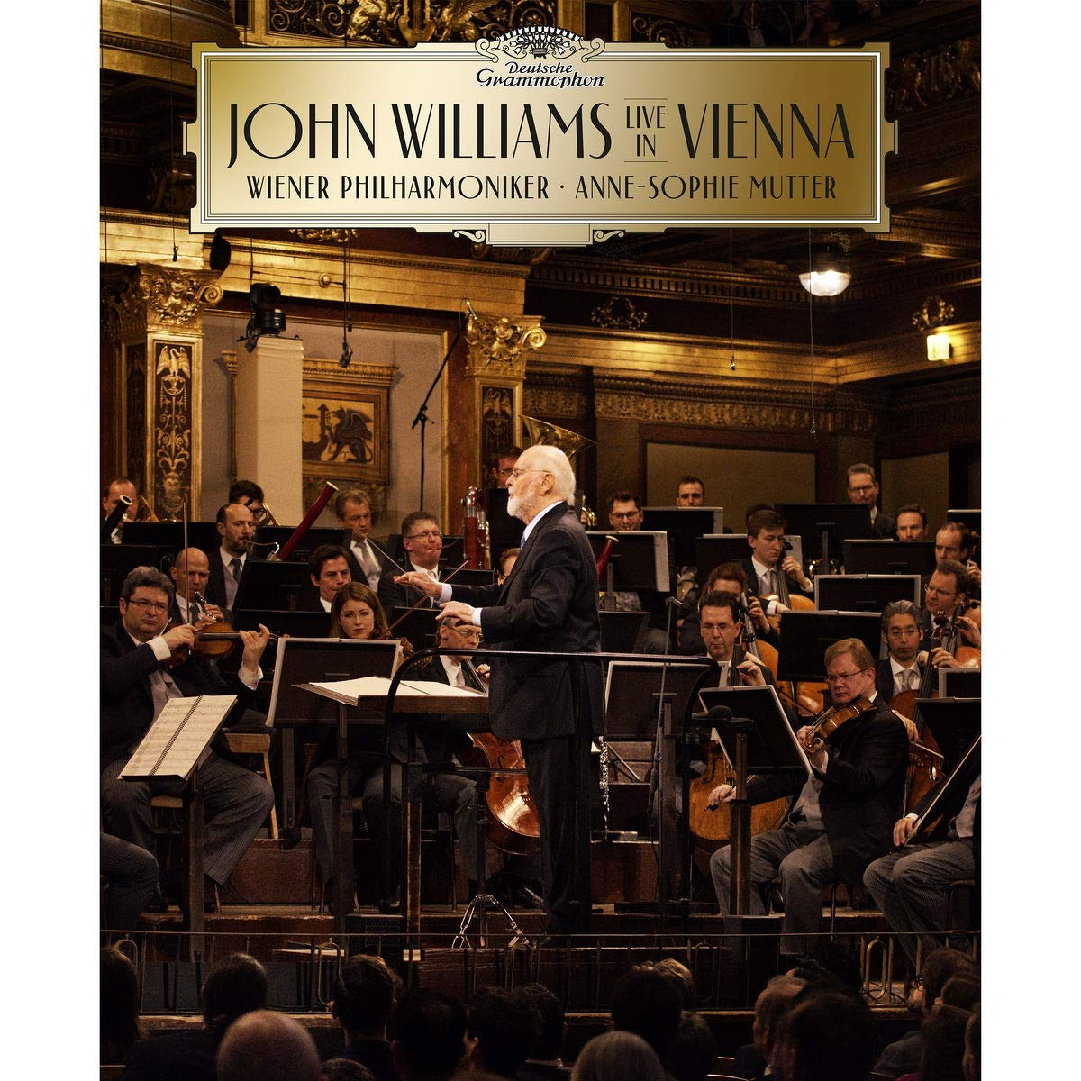 John Williams/Anne-Sophie Mutter/Wiener Philharmoniker - John Williams In Vienna [CD/Blu-Ray]
