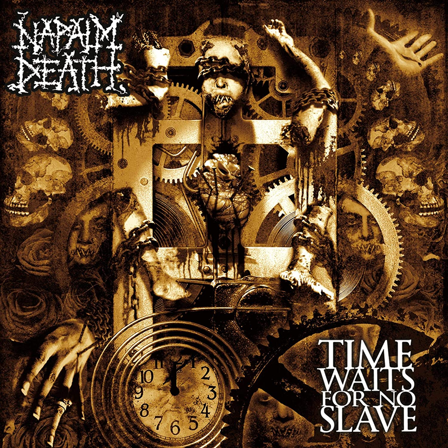 Napalm Death - Time Waits For No Slave (Ger)