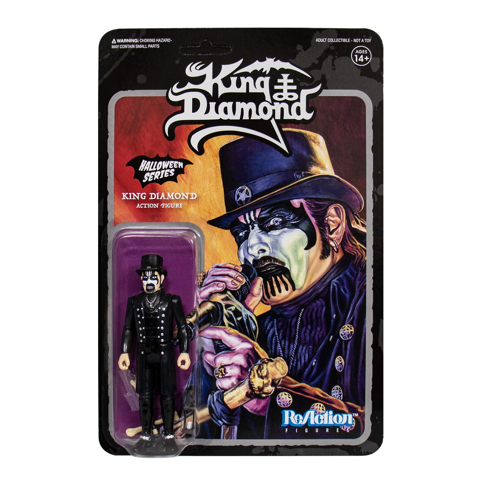 Super 7 - KING DIAMOND TOP HAT REACTION FIGURE