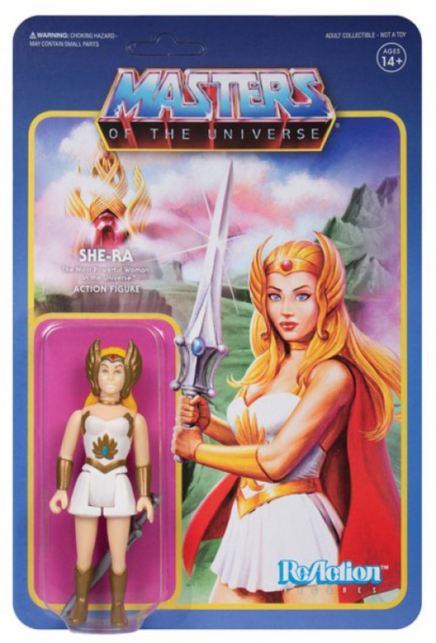 Reaction - MASTERS OF THE UNIVERSE SHE-RA REACTION FIGURE
