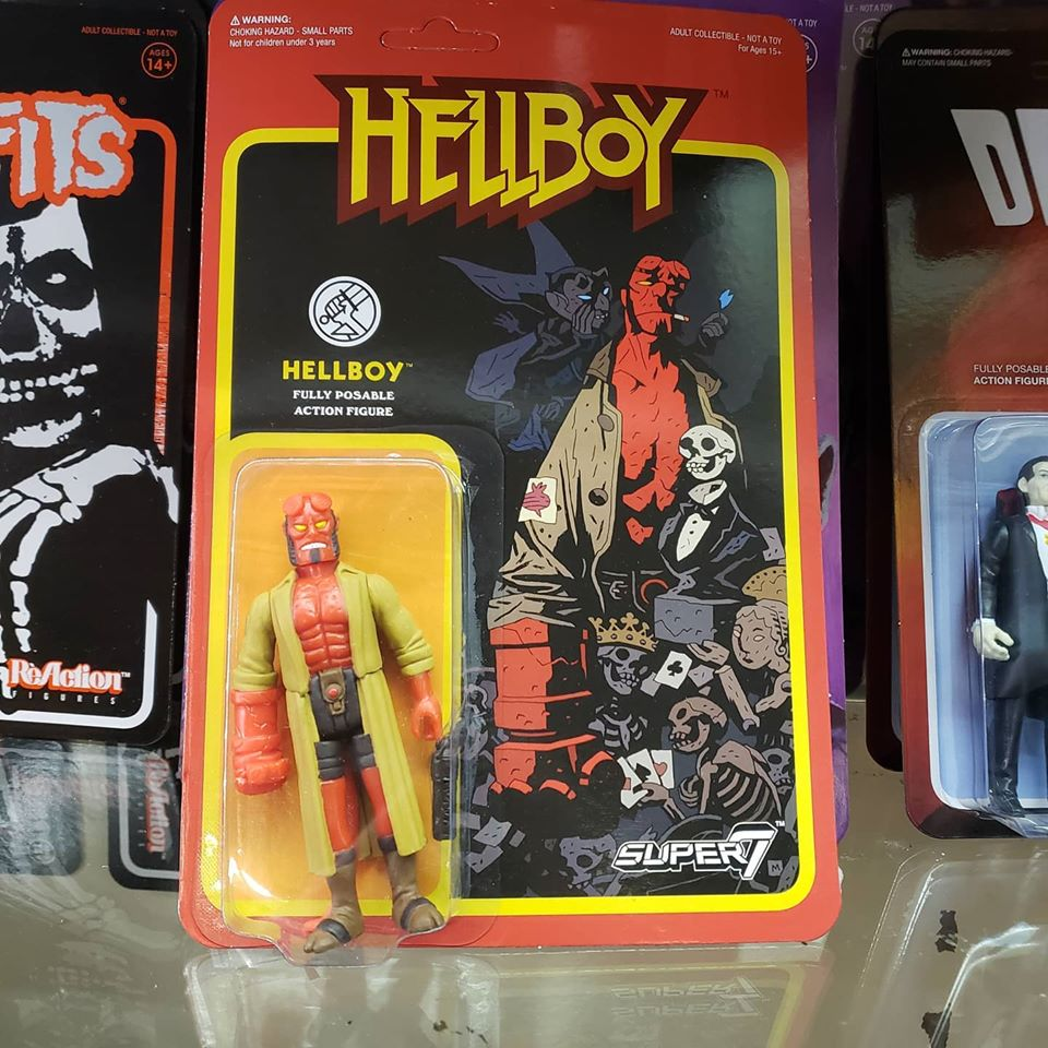 Reaction - HELLBOY REACTION FIGURE