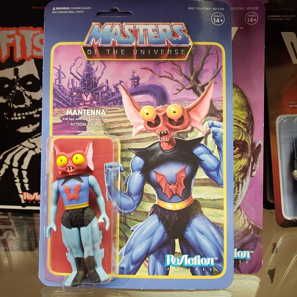 Reaction - MASTERS OF THE UNIVERSE MANTENNA