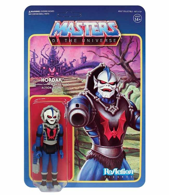 Reaction - MASTERS OF THE UNIVERSE HORDAK REACTION FIGURE