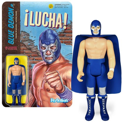 Reaction - BLUE DEMON JR  LUCHA REACTION FIGURE