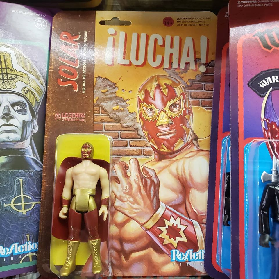 Reaction - SOLAR LUCHA REACTION FIGURE