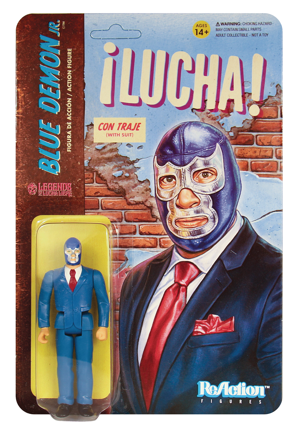 Reaction - BLUE DEMON JR SUIT REACTION FIGURE