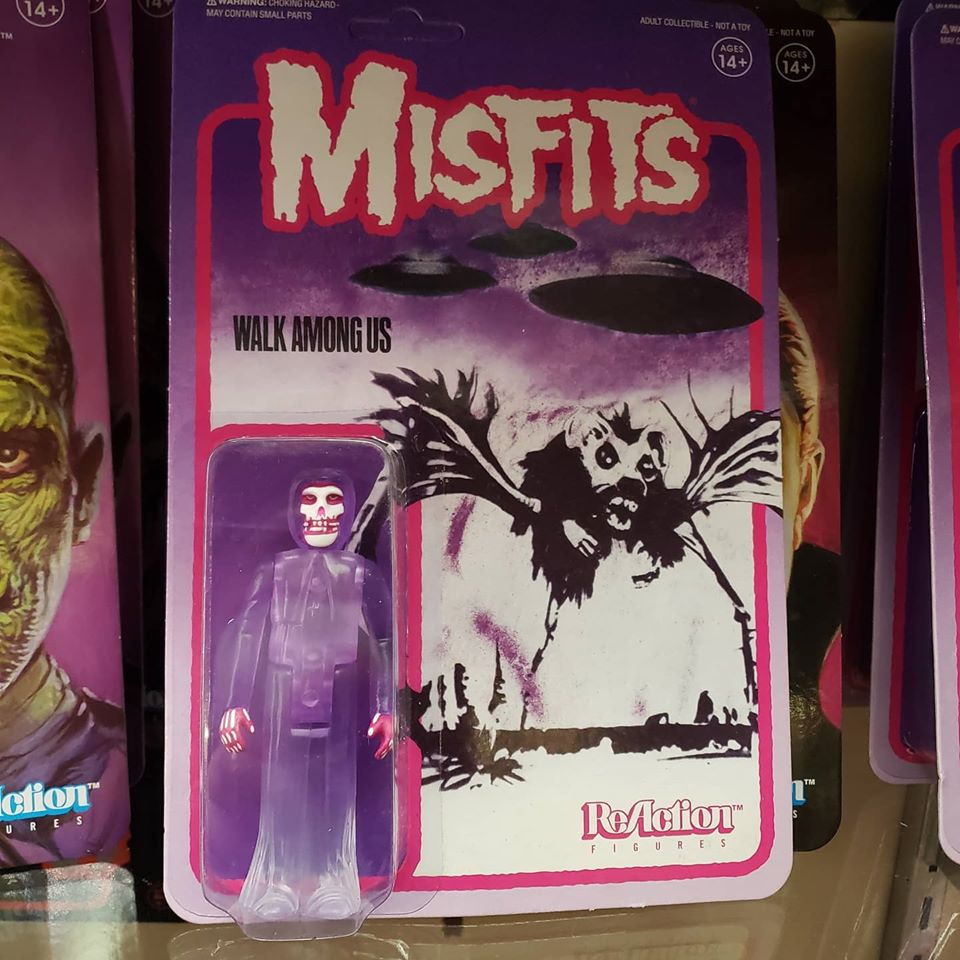 Reaction - MISFITS WALK AMONG US PURPLE REACTION FIGURE