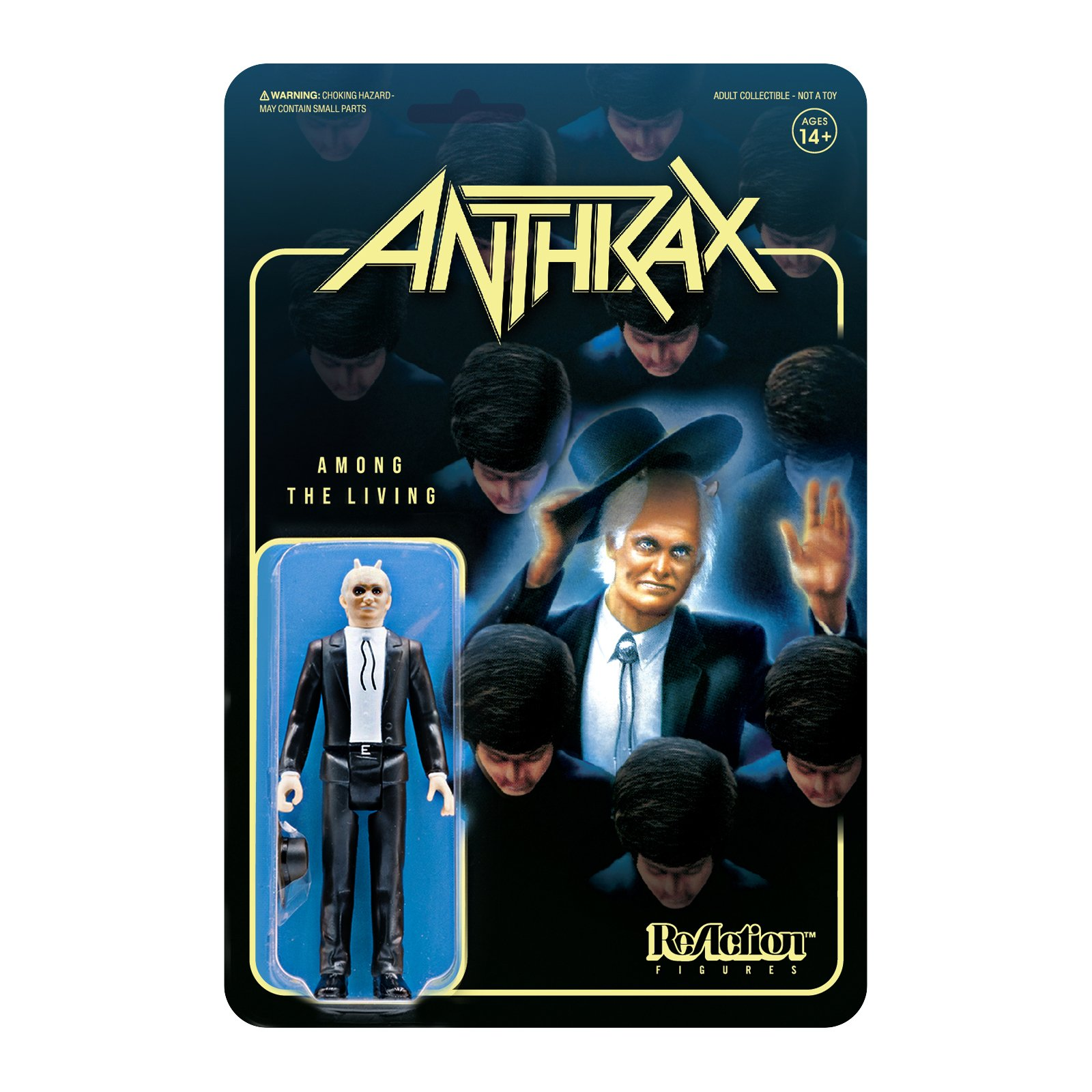 Reaction - ANTHRAX AMONG THE LIVING REACTION FIGURE