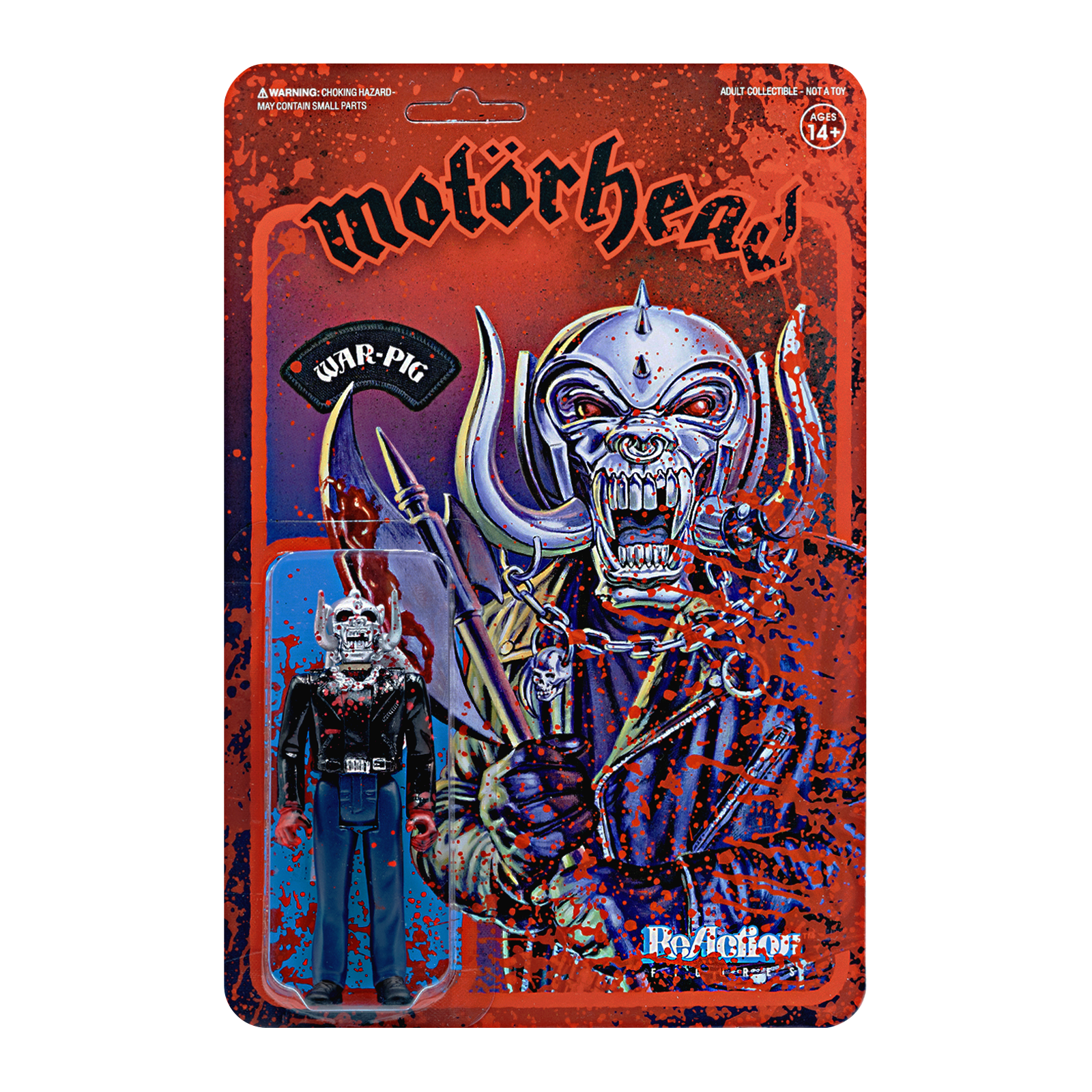 Reaction - MOTORHEAD BLOODY WARPIG REACTION FIGURE
