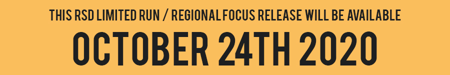 RSD Limited Run / Regional Focus - Oct