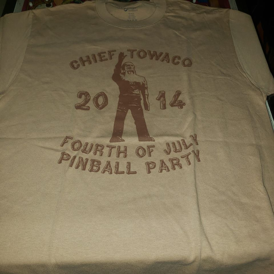 ROCK FANTASY   - CHIEF TOWACO TSHIRT