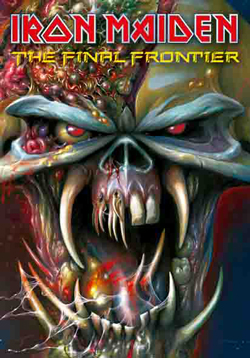 Iron Maiden - IRON MAIDEN FINAL FRONTIER POSTER FLAG
