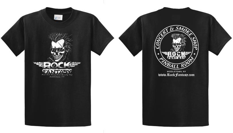 ROCK FANTASY   - ROCK FANTASY T SHIRT (SMALL)