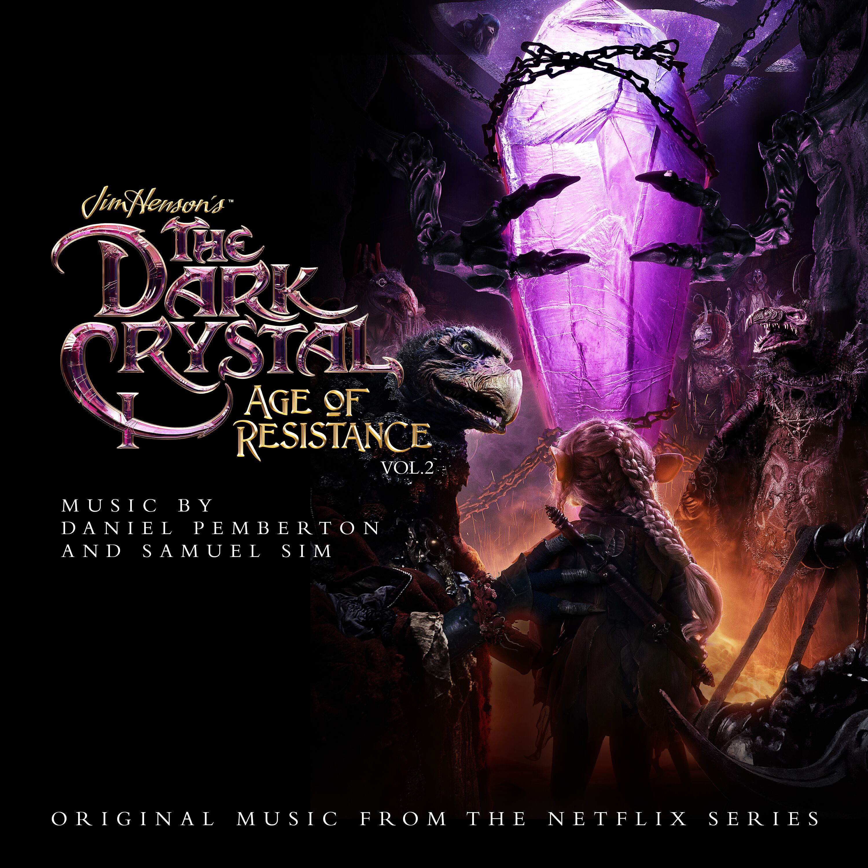 Daniel Pemberton & Samuel Sim - The Dark Crystal: Age of Resistance - The Aureyal [RSD Drops Sep 2020]