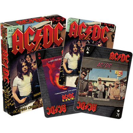 ACDC - PLAYING CARDS