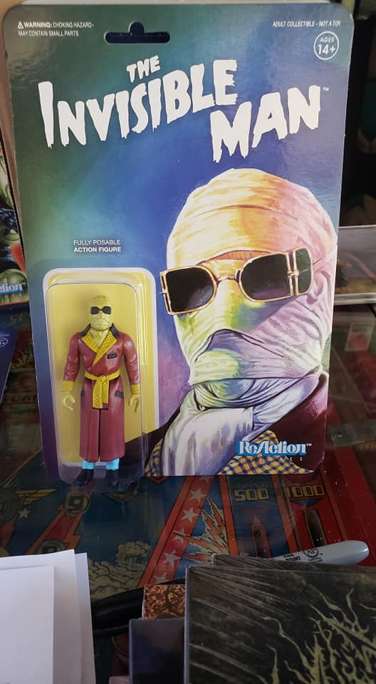 Invisible Man - INVISIBLE MAN REACTION FIGURE
