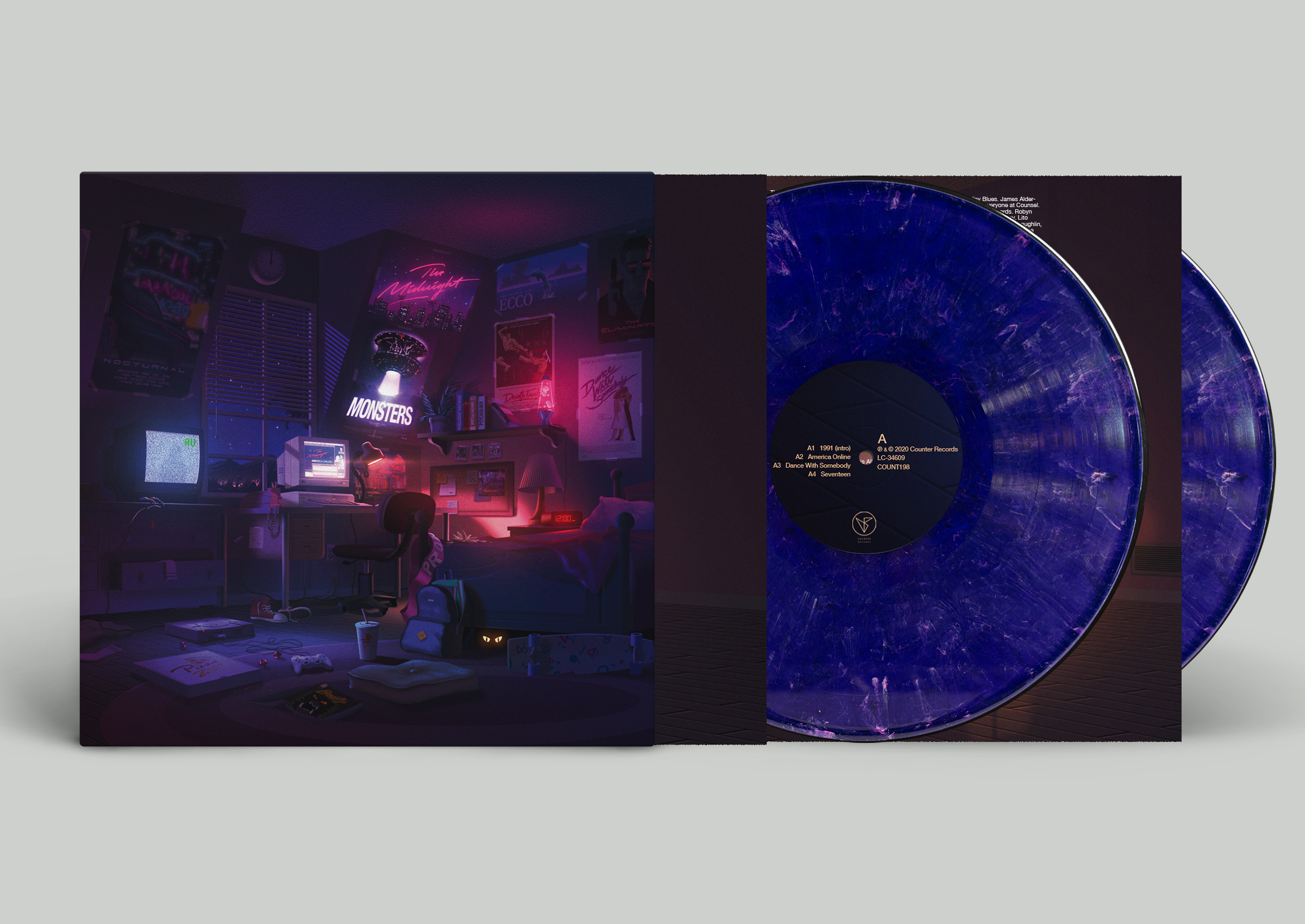 Purple Swirl 2LP