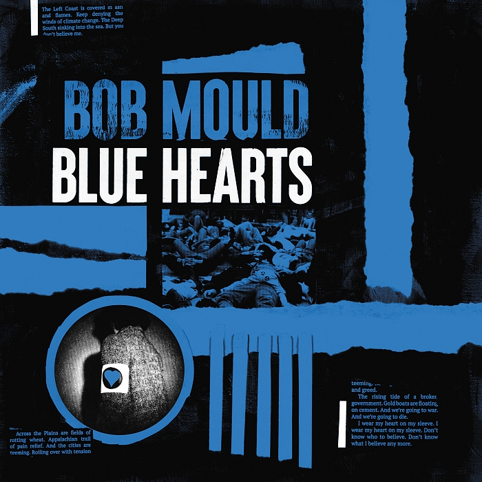 Bob Mould - Blue Hearts [Indie Exclusive Limited Edition Black/Blue/White LP]